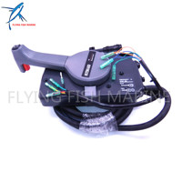 Boat Motor 703 48207 22 00 Side Mount Remote Control Throttle Shift Box For Yamaha Outboard