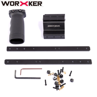 Worker Modified Toy Accessories Pull down Kit for Nerf Retaliator Black Parts For Modification