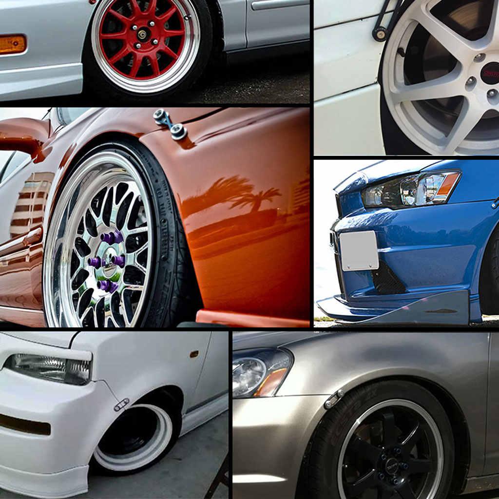 O แหวน Fast Release Fastener สำหรับ Fender Billet Bumper Trunk Hatch Lid ยาง Super ยางทนทานและยืดหยุ่นวัสดุ
