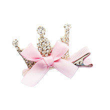 Lovely Cute Girls Crown Hairpins Rhinestone Crystal Princess Hair Clip Shiny Rhinestone Star Headband Hair Accessories недорого