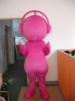 Mascot Pink Blue Music Doll Mascot Costume Fancy Dress Custom Fancy Costume Cosplay Theme Mascotte Carnival Costume