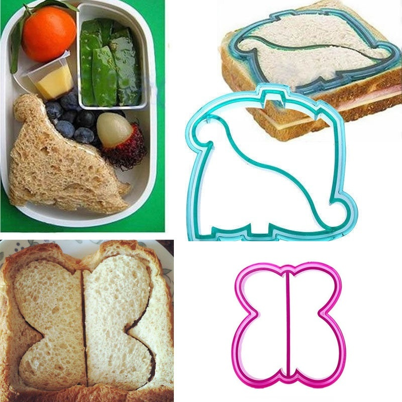 DIY Cookies Cake Bread Biscuit Food Cutter Mold Kids Lunch Sandwich Toast Mould