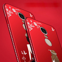 For Xiaomi Redmi Note 4 4X Diamond Case Note 4 3D Glitter Godness Skin Soft TPU