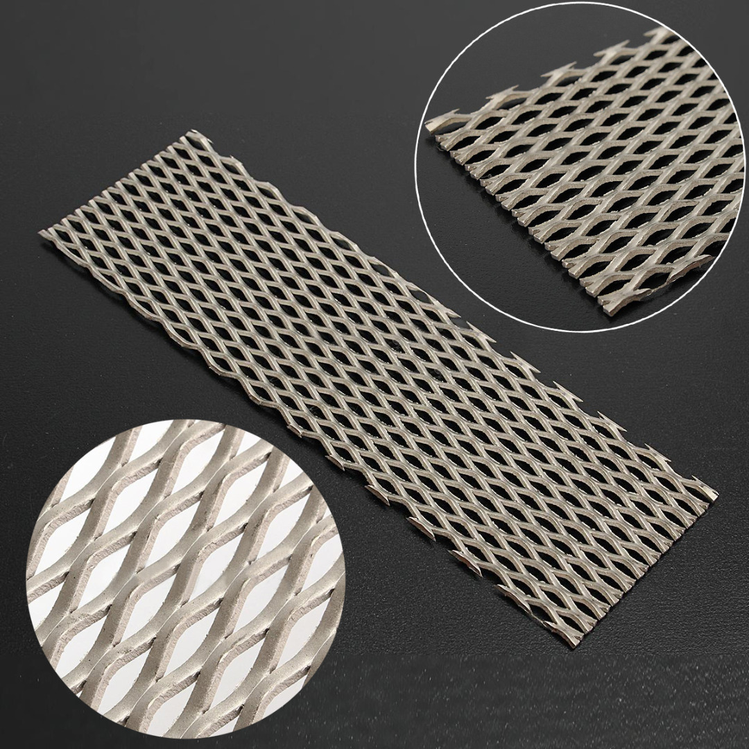 1pc Recycled Metal Titanium Mesh Sheet with Corrosion Resistance 50mmx165mm Electrode For Electrolysis 1pc recycled metal titanium mesh sheet with corrosion resistance 50mmx165mm electrode for electrolysis