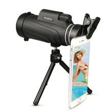50x52 New Monocular Telescope with Tripod + Clip HD Outdoor Wholesale Binoculars Powerful Gift Hunting