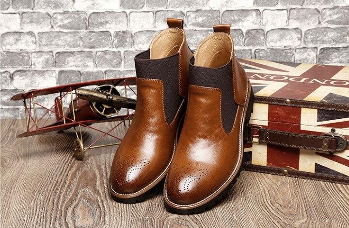 Sapatos Quente Dedos Planas Confortáveis Top Estilo Baixo Pic Alta Data Inverno Pic Salto De as As Moda Apontou Masculina Inglaterra Casuais SawIxpqO8p