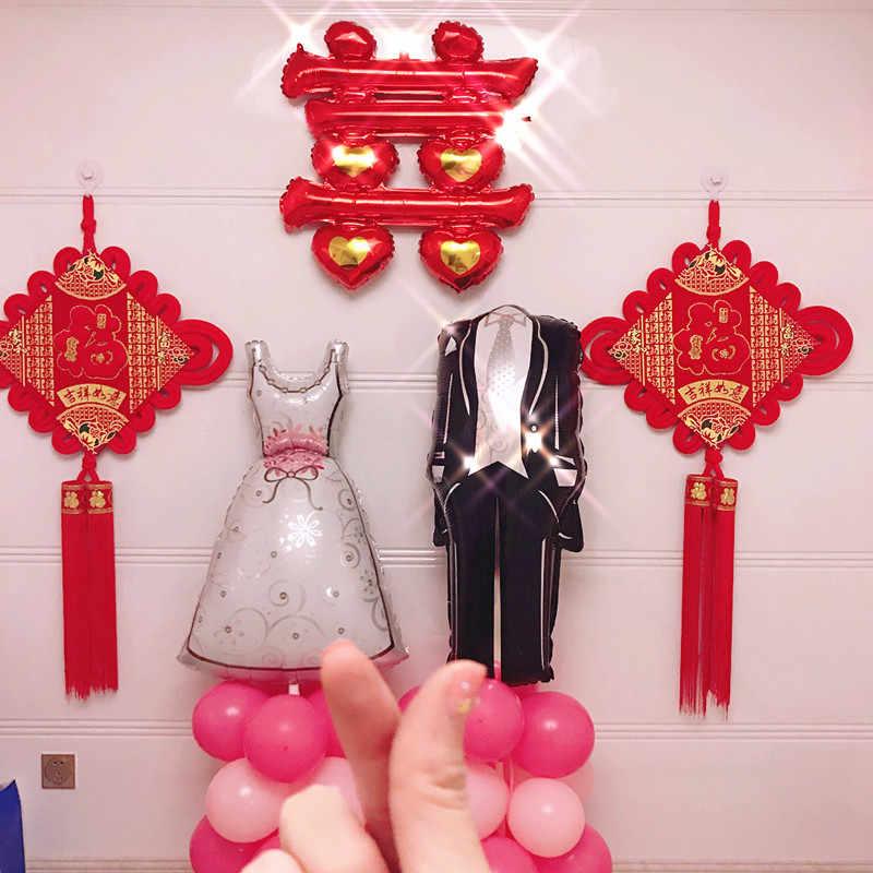 Свадебные воздушные шарики, фольга, Жених Невеста любовный шарик, юбилей, Балон, день рождения, украшения, вечеринка для взрослых, вечеринки, вечерние принадлежности
