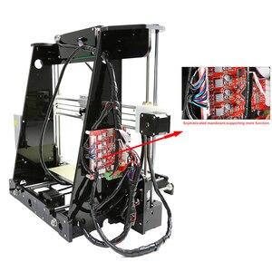 Image 3 - 뜨거운 판매 anet a8 3d 프린터 인쇄 크기 220*220*240mm 오프라인 인쇄 cura diy 키트 8 기가 바이트 마이크로 sd 카드 판독기 usb