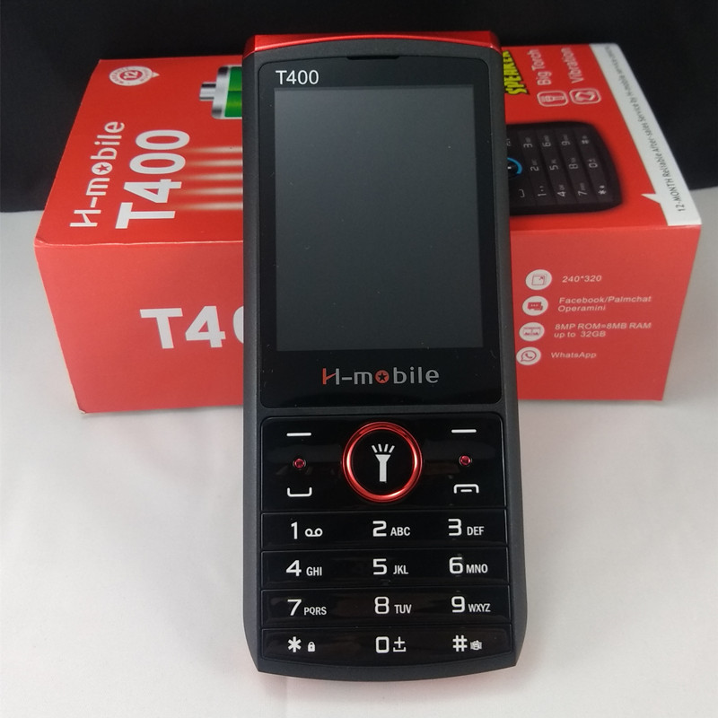 Original H-mobile T400 Dual Sim Cards 2.8