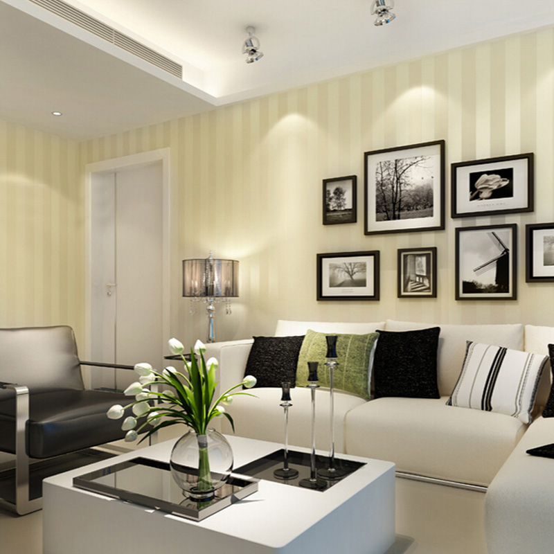 Moderne Minimalist Striped Glitter Wand Papier Vlies Tapete Für Wohnzimmer  Sofa TV Hintergrund Tapete Papel De Parede In Moderne Minimalist Striped  Glitter ...