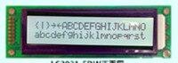 1pcs High Quality LCD Display 2002 2002A FSTN Gray Black Charactor White Backgroud 5v HD44780 SPLC780D