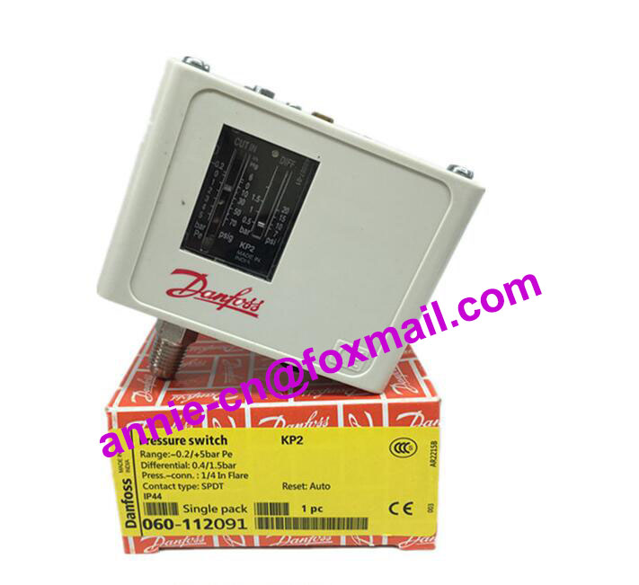 KP2 060-112091  New and original Pressure controller switch relay,Pressure switch  -0.2/+5bar  new and original kp36 060 2133 pressure controller switch relay pressure switch