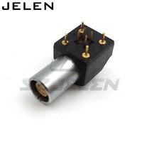 LEMO Connector PCB Welding Socket 4 Pin Socket EPG 0B 304 HLN Printed Circuit Board 90