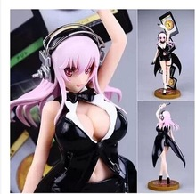 Japanese Cartoon Queen Blade one piece Action Figure Adult PVC Sexy Figurines Toys Dress Detachable Girls Nude Anime Figure 26cm