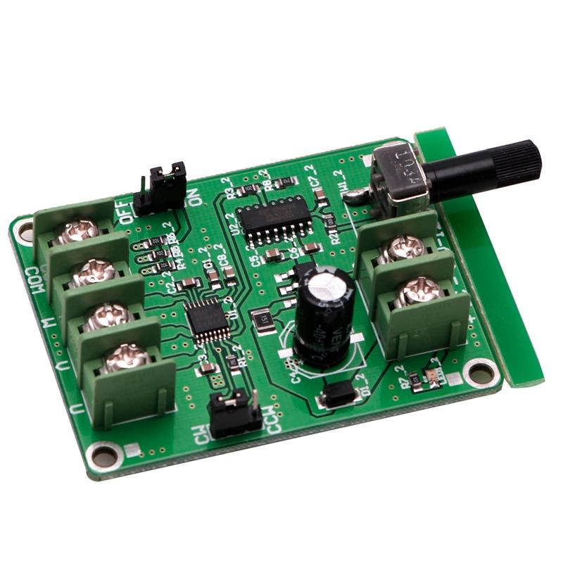 Controlador de placa de 5 V-12 V DC sin escobillas para Motor de disco duro 3/4 cable