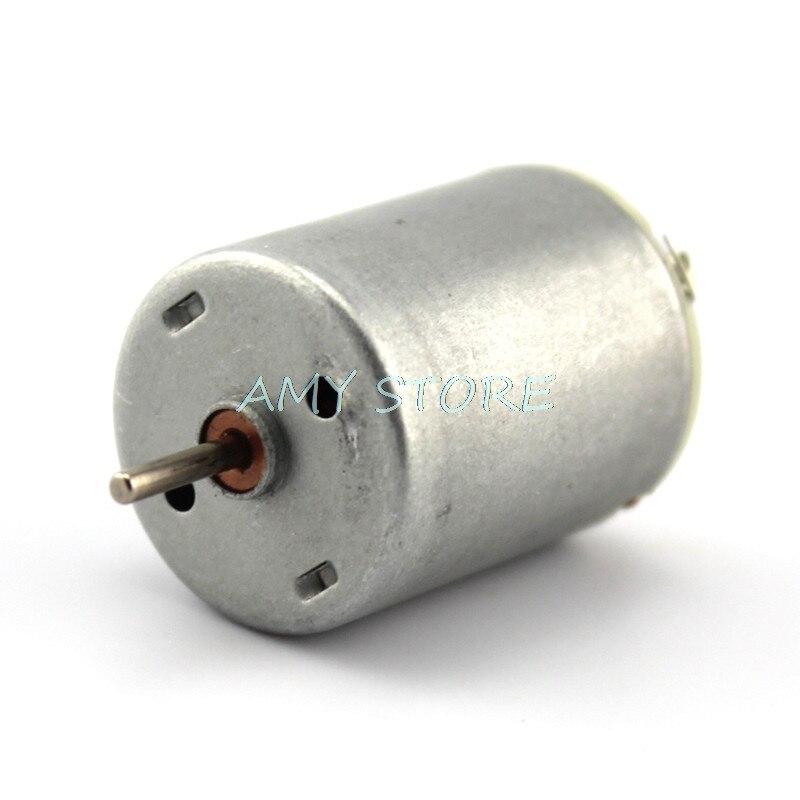 2PCS Mini DC Motor DC 3V 3.7V 5V 2000RPM-33000RPM High Speed For Hobby Toy Model