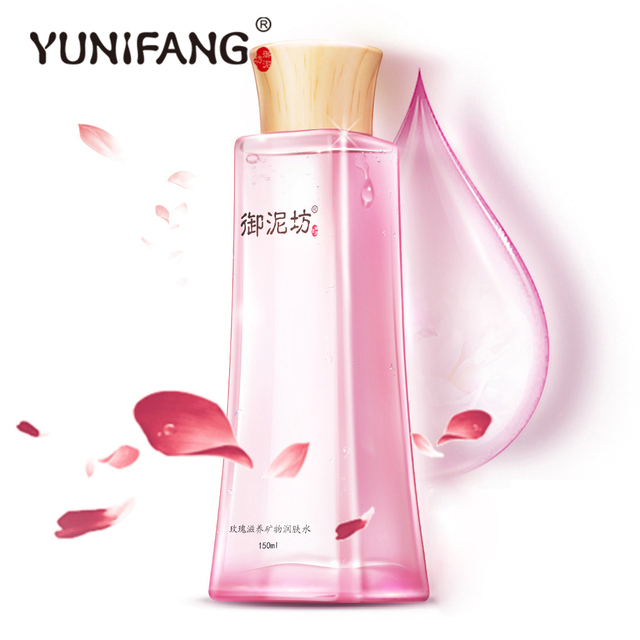 La piel careYUNIAFNG Rose completos de humedad de tóner hidratante hidratante hidratante, hidratante 150 ml
