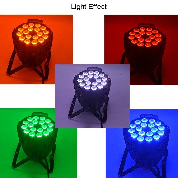18 par light effect