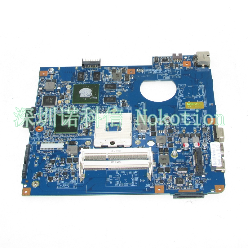 NOKOTION JE40 CP MB 48.4GY02.051 For acer aspire 4741 4741G laptop motherboard HM55 DDR3 Nvidia GT540M nokotion laptop motherboard for acer aspire 5551 nv53 mbbl002001 mb bl002 001 mainboard tarjeta madre la 5912p mother board