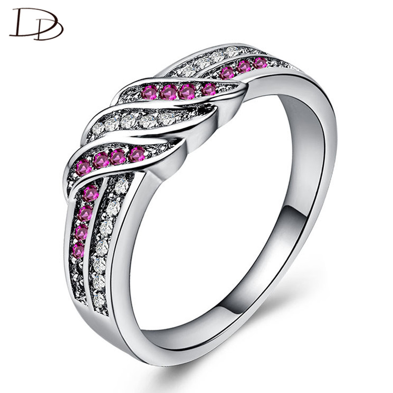 Back To Search Resultsjewelry & Accessories Wedding Bands Modest Dodo Hot Sale Fashion Ring Green/pink/blue Aaa Zircon Inlay Wave Rings For Women Party Jewelry Bunk Colorful Anillos Gifts B895