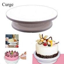 Kuchen Dekorieren Tools Rotierenden Tortenständer Sugarcraft Drehscheibe Dekorieren Ständer Plattform Cupcake Stand Cake Platte Werkzeuge CT6601