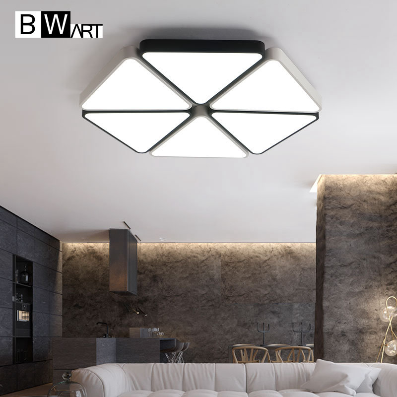 BWART Modern Led Ceiling Chandelier For Living Room Study Room Bedroom Home AC90 265V lamparas de