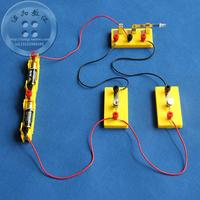 Physical laboratory equipment Series parallel circuit experiment Wire switch lamp holder light bulb battery box ABS
