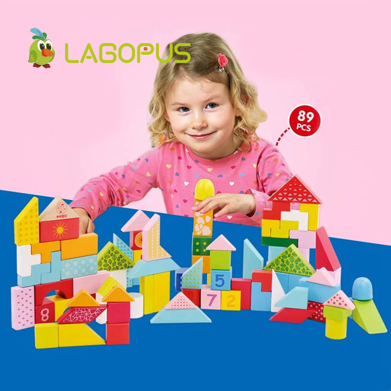 lagopus Early Education Cube puzzle toys Varieti B&lock Developing Logic Thicking Wooden Toys gift for Kids Children's - 2