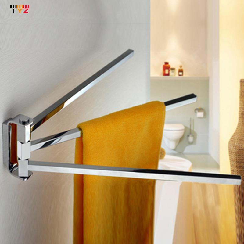 2015 Promotion tasses limitées crochets suspendus pour serviettes salle de bain salle de bain ensemble activités carrées Double pôle bain serviette étagères Bars