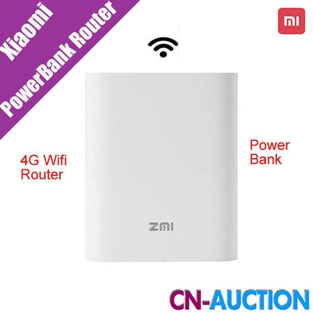 Original nuevo xiaomi zmi mifi3g mf855 7800 mah 4g querysystem 4g wireless router wifi banco de la energía móvil 3.6 v/7800 mah micro usb