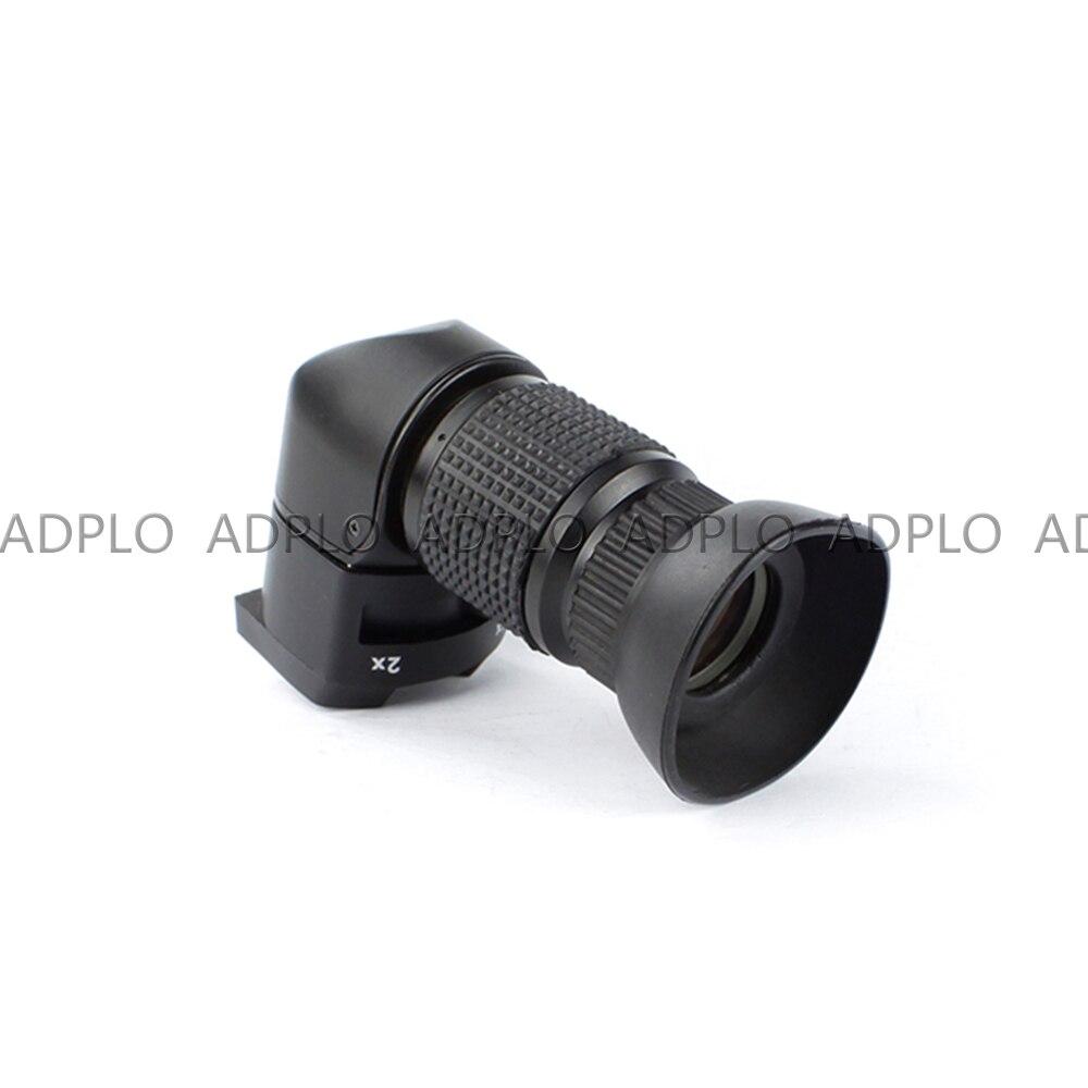 Pixco 1-2.0x détecteur à Angle droit pour Canon pour Sony pour Pentax pour Fujifilm 1x-2x viseur à angle droit - 3