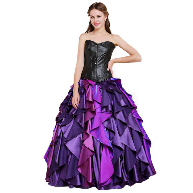 The Little Mermaid Sea Witch Ursula Dress Costume Adult Womenu0027s Fancy Halloween Carnival Cosplay Costume  sc 1 st  Aliexpress & Online Shop The Little Mermaid Sea Witch Ursula Dress Costume Adult ...