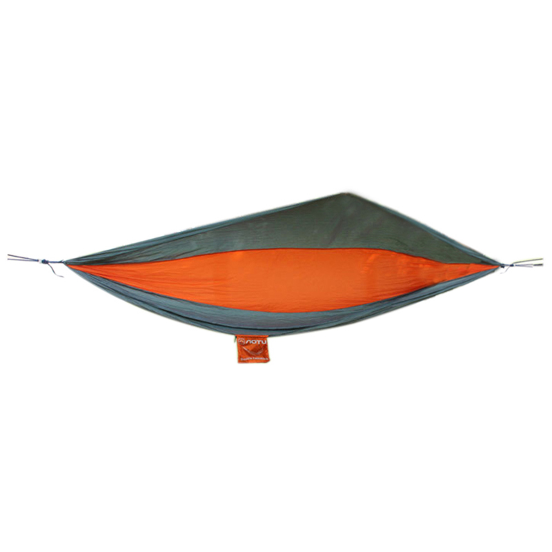 Best AOTU AT6737 Camping 2-Person Parachute Hammock(Red + gray) aotu at6737 2 person parachute nylon fabric hammock