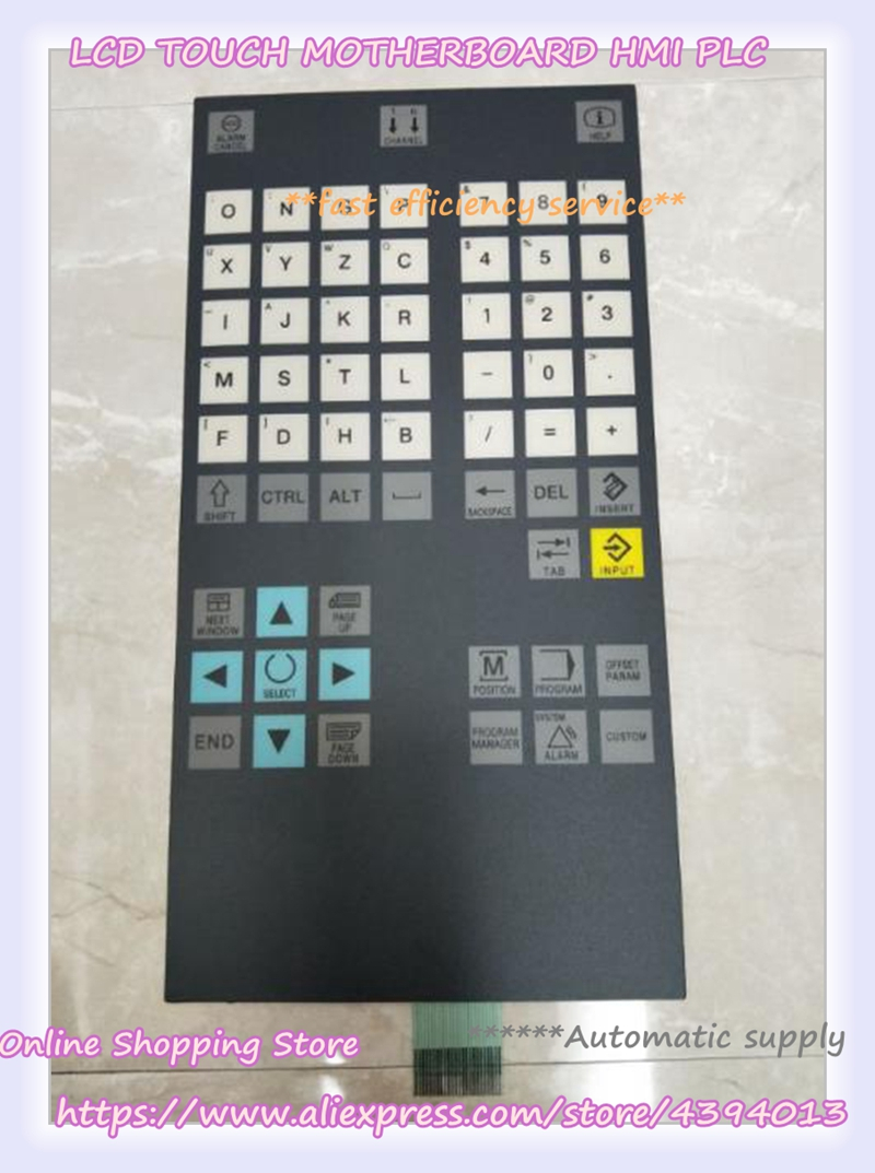 offer touch screen panel New 6FC5303-0DT12-1AA0 Panel Membrane Keypad buttons membrane keypad for 6av3515 1ma30 1aa0