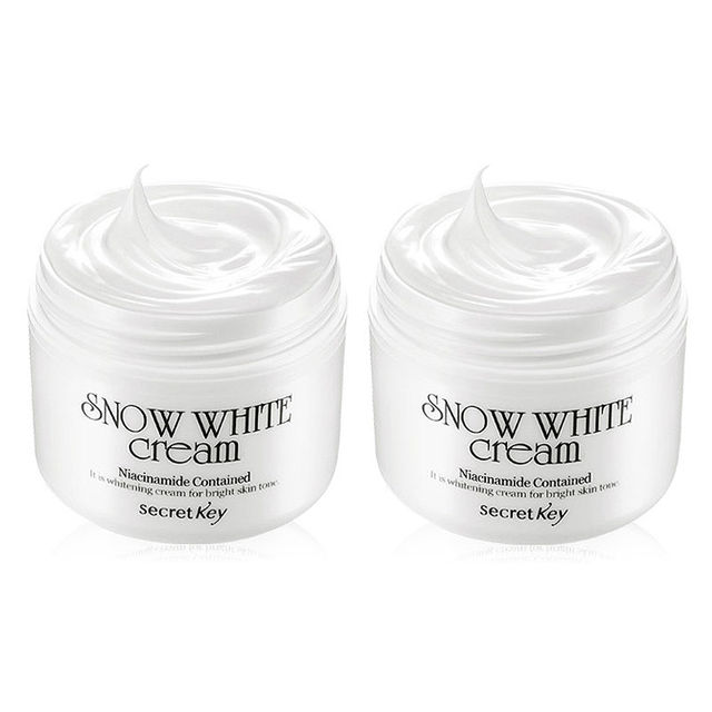 SECRET KEY [1+1] Snow White Cream 50g skin Whitening day creamKorea cosmetic