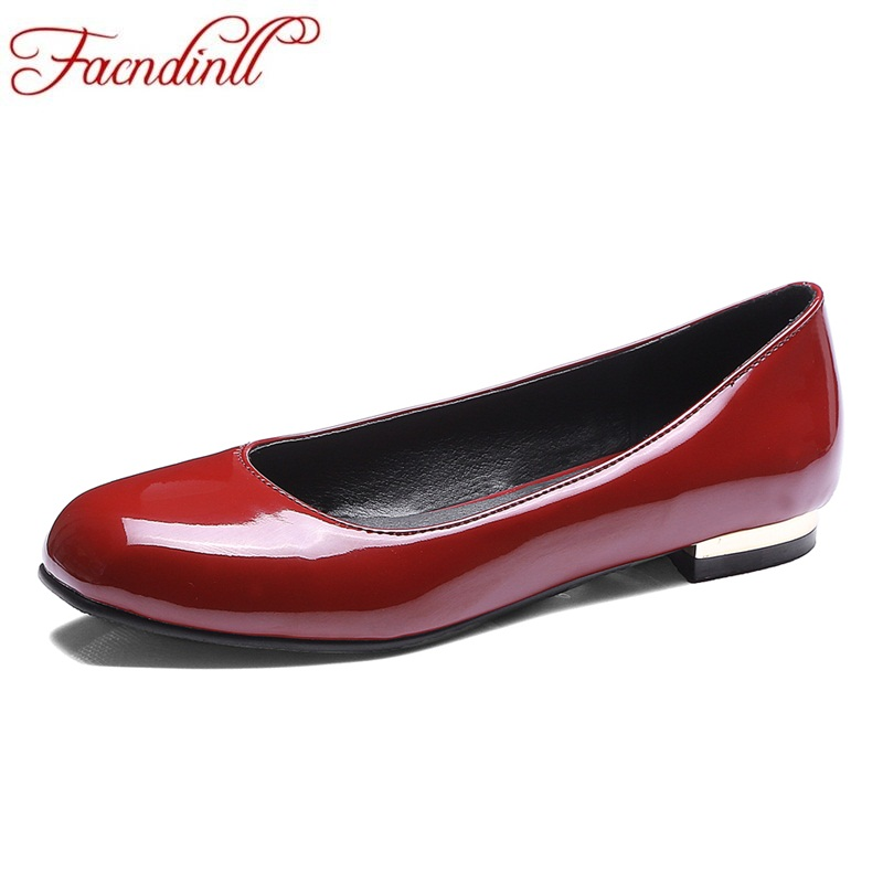 fashion spring summer ladies PU leather square toe ballet flats casual date shoes woman loafers flat shoes ladies dress shoes ladies shoes 2018 spring british style multicolor leather shoes square head slope thick soles shoes fashion fit flat shoes