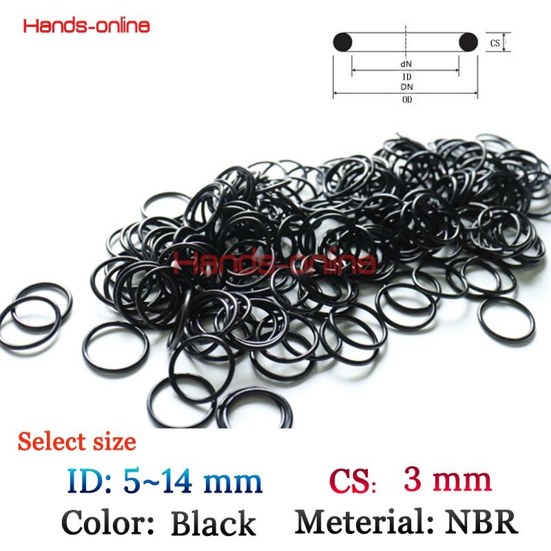 10pcs Heat Oil Resistant 2.4mm FKM Fluorine O-Ring Rubber Sealing Ring OD 5-58mm
