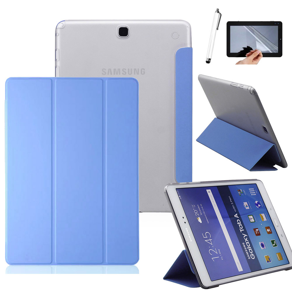 Smart Smart Case For Samsung Galaxy Tab A 9.7 T550 T555 P550 SM-T550 SM-T555 Cover Slim Stand Pu Leather Case For Samsung Tab A