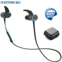 Plextone BX343 Wireless Sport Headphones Bluetooth IPX5 Waterproof Magnetic Headset Earphones With Microphone For Mobile Phone