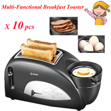 10pcs/lot Household Multi-functional Toaster Breakfast Toast Oven Machine with a Hard Boiled Egg XB-8002