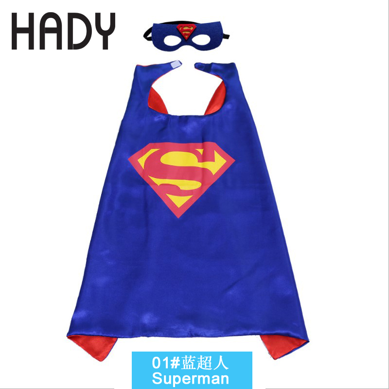 Superman Cloak Cartoon Held Umhang benutzerdefinierte Großhandel - Kostüme - Foto 4