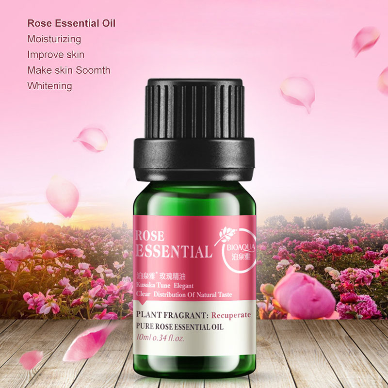 Rose Hip Oil Essential Oils for Aromatherapy Skin Care Massage Steam Whitening Moisturizing Hydrating Wrinkle Removal Anti Aging 1