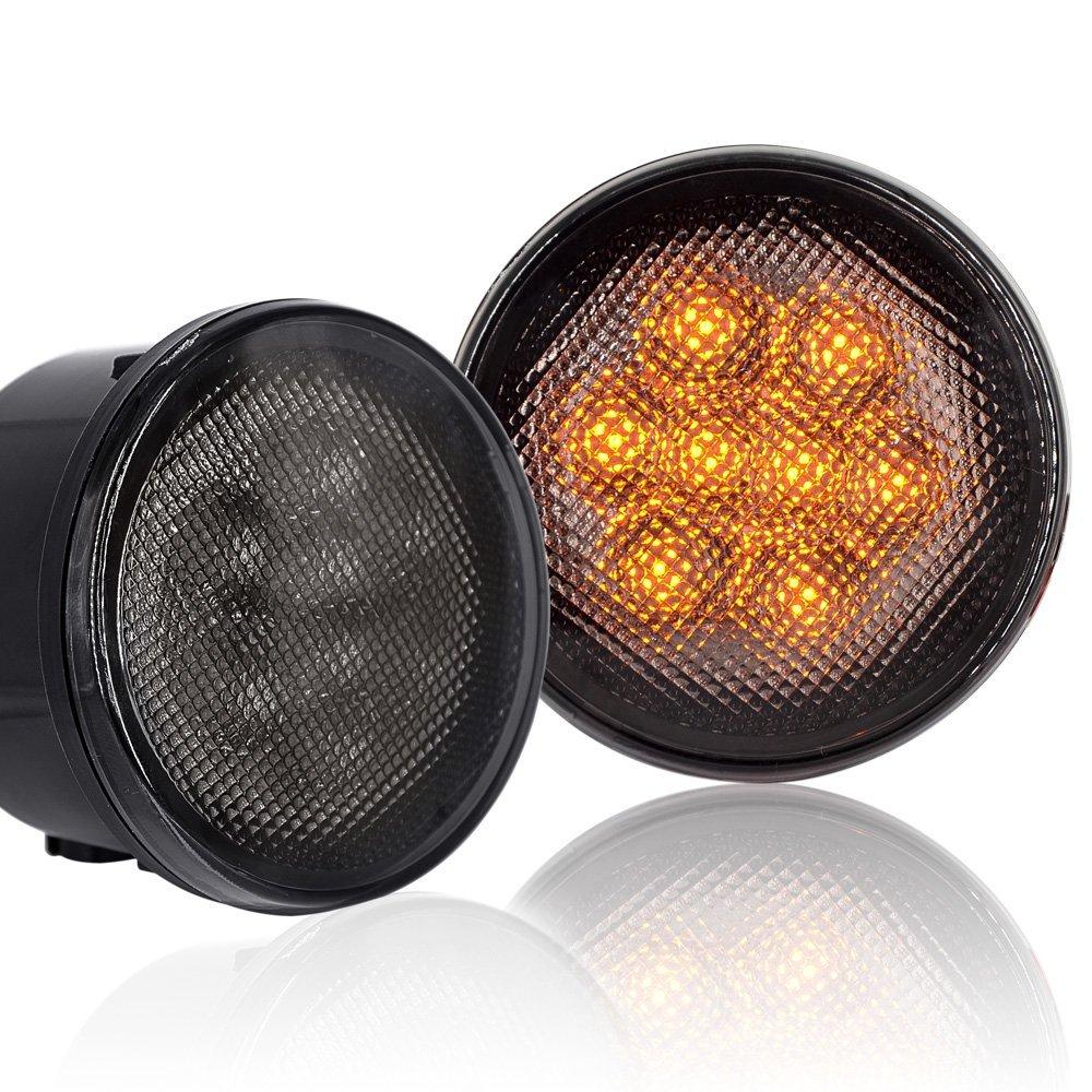 Təqdimat! Wrangler üçün cip lampası üçün LED Ön Dönüş - Avtomobil işıqları - Fotoqrafiya 6