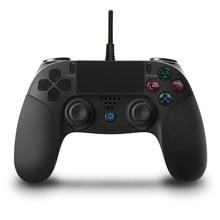 Проводной USB игровой контроллер Джойстик для PS4 DualShock Вибрационный Джойстик Геймпад для PlayStation4 для PS3/PC Win7/8/10