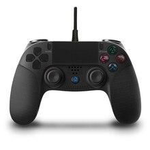 有線usb PS4用デュアルショック振動ジョイスティックゲームパッドコントローラためPlayStation4ためPS3/pc Win7/8/10