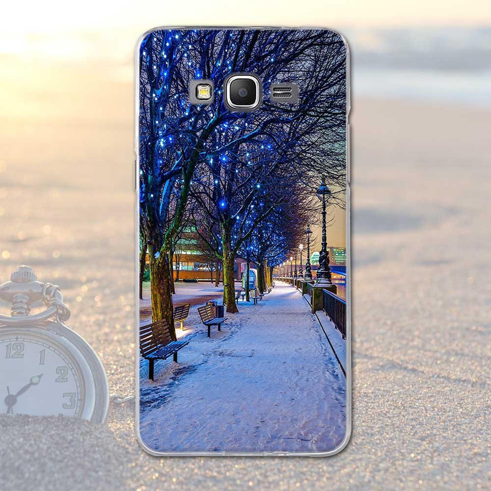 For Samsung Galaxy Grand Prime G530 G530H Scenery Pattern TPU Soft Cover For Samsung Grand Prime G530Y G530FZ G531 Phone Case