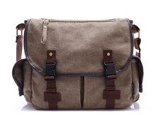 Hot High Quality Men Canvas Bag Casual Travel Men's Crossbody Bag Luxury Men Messenger Bags   LJ-248