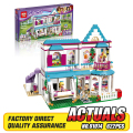 Lepin 01014 New 622Pcs Genuine Good Friend Girls Series The Stephanie's House Set Building Blocks Bricks Educational Toys 41314