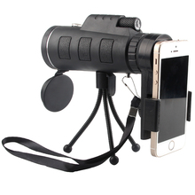 Buy online HD 40X60 Monocular Telescope with Compass & Adjustable Tripod Phone Photographing Outdoor Hunting Camping Equipment 38-0004