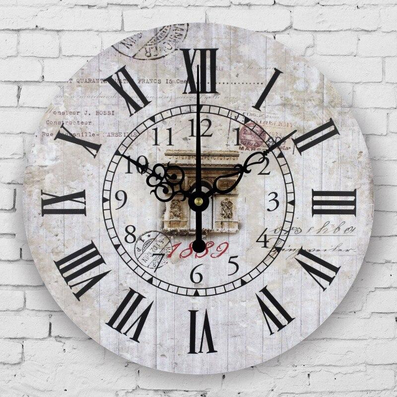 Moderne Wohnzimmer Dekoration Uhr Wand Europa Stil Große Dekorative